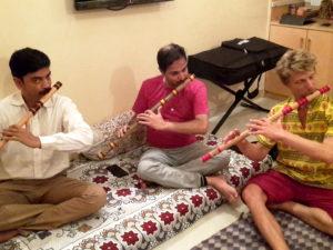 2017 - at Pt. Rupak Kulkarni's place in Mumbai