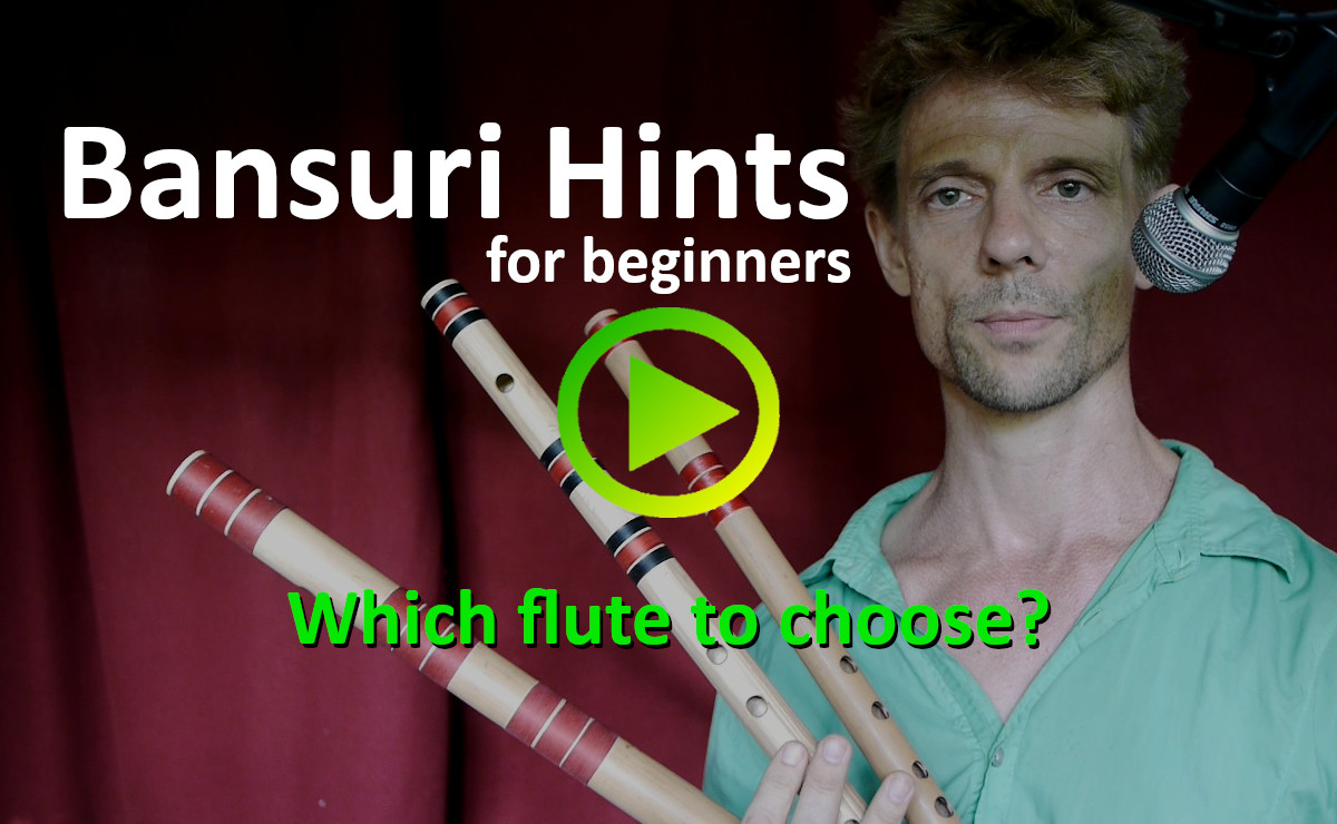 Bansuri Hints for beginners: Which size to choose